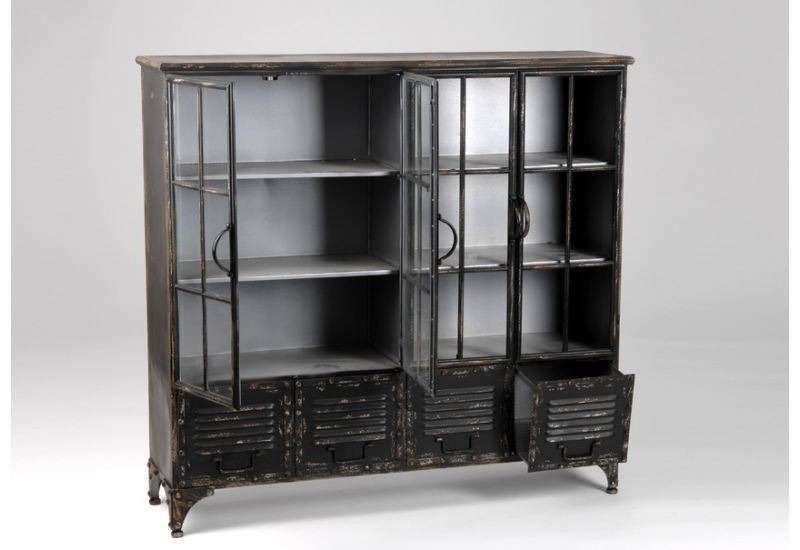 bibliotheque metal amadeus amadeus 2659. Black Bedroom Furniture Sets. Home Design Ideas