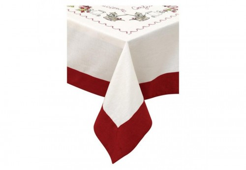 Nappe 150*150 COUNTRY CORNER FAMILY COOKING
