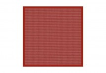 Nappe vichy rouge 160 x 160 cm forever