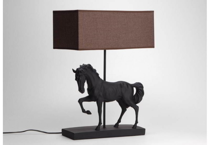 lampe cheval lampes et luminaires sur enperdresonlapin. Black Bedroom Furniture Sets. Home Design Ideas