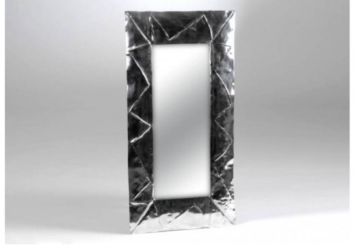 Miroir Alu Rectangle Froisse Amadeus
