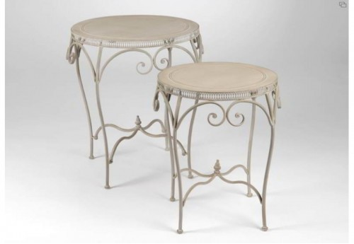 Set De 2 Tables Gigognes Frise Amadeus