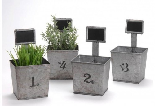 Lot De 4 Caches Pots Amadeus