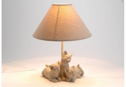 Lampe Chats Complices Amadeus