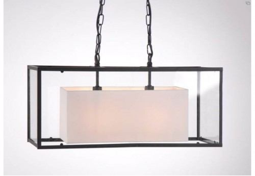 Suspension Verre Rectangle Amadeus