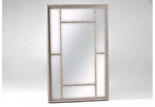Miroir Rectangle Taupe Antique Amadeus