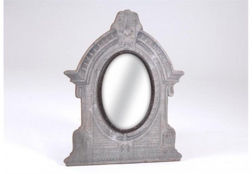 Miroir Ovale Antique Meredith AMADEUS