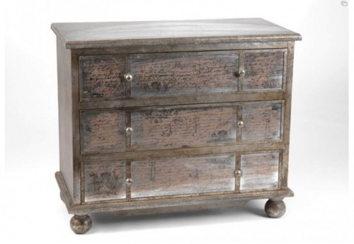 Commode 3 Tiroirs Esquisse  Amadeus
