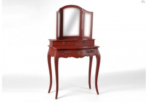 Coiffeuse murano rouge Amadeus