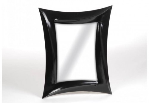 Miroir Rectangle Shinny Noir 100X80 Amadeus