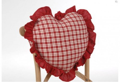 Coussin Chaise Coeur Alpin  Amadeus