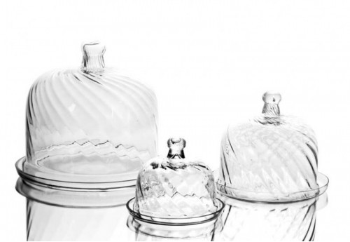 Set de 3 Cloches A Gâteau  Amadeus