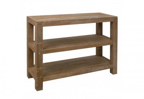 Console Rectangle Bois Naturel 108X40X83Cm J-line