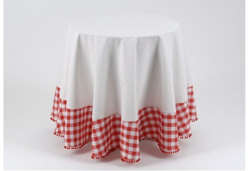 Nappe Ronde 180X180 Miss vichy  AMADEUS
