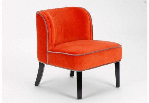 Chauffeuse curl orange Amadeus