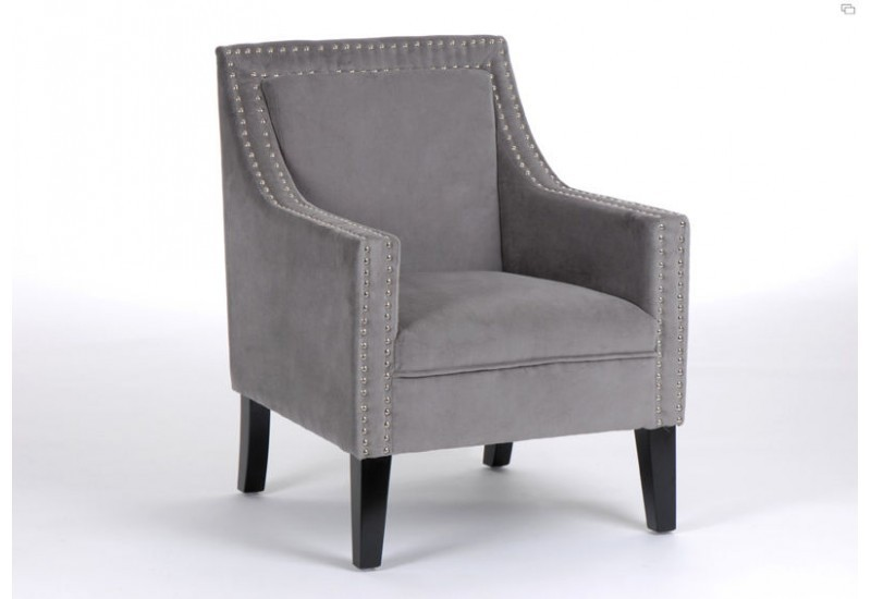 fauteuil vend me gris clair amadeus amadeus 11334. Black Bedroom Furniture Sets. Home Design Ideas