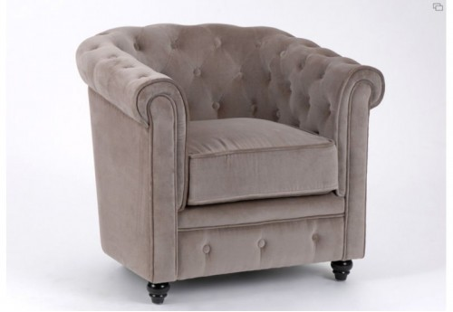 Chesterfield taupe Amadeus