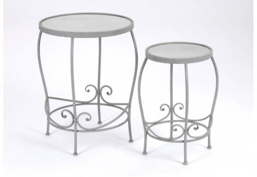 Set de 2 Tables Gigognes Perla AMADEUS