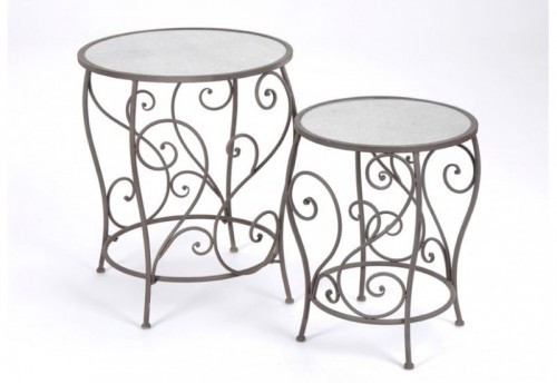 Set de 2 Tables Gigognes Jasmin AMADEUS