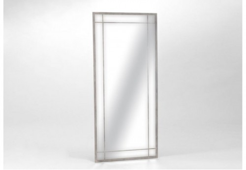 Miroir Rectangle Gd Blanc  AMADEUS