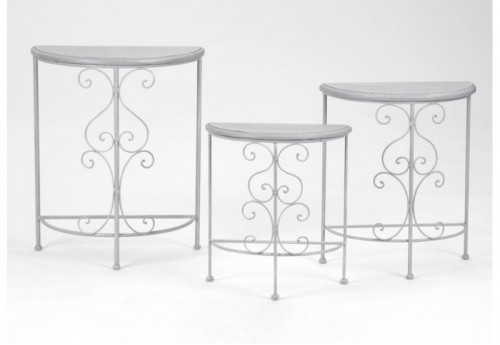 Set de 3 Tables Gigognes Arabesque AMADEUS
