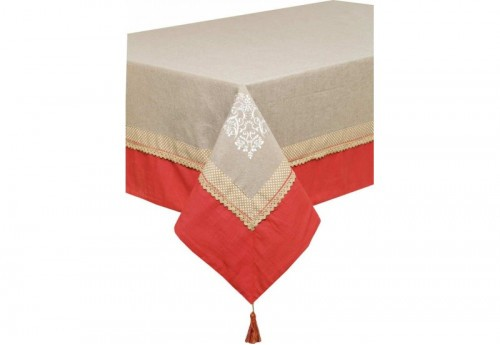Nappe Rectangulaire 150X250 Brodee Clara