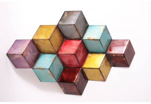 Empilement Cubes Multicolores SOCADIS