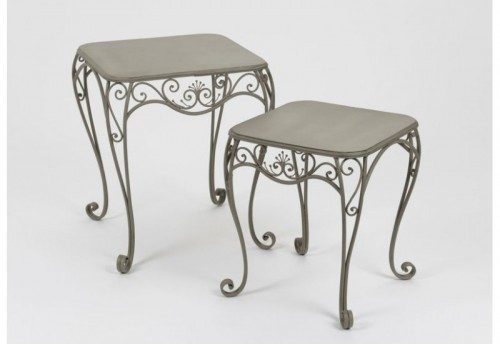 Set De 2 Tables Gigognes Pistil AMADEUS