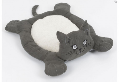Coussin Anthracite Chat AMADEUS