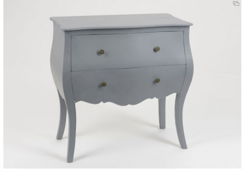 Commode Gris Fonce AMADEUS