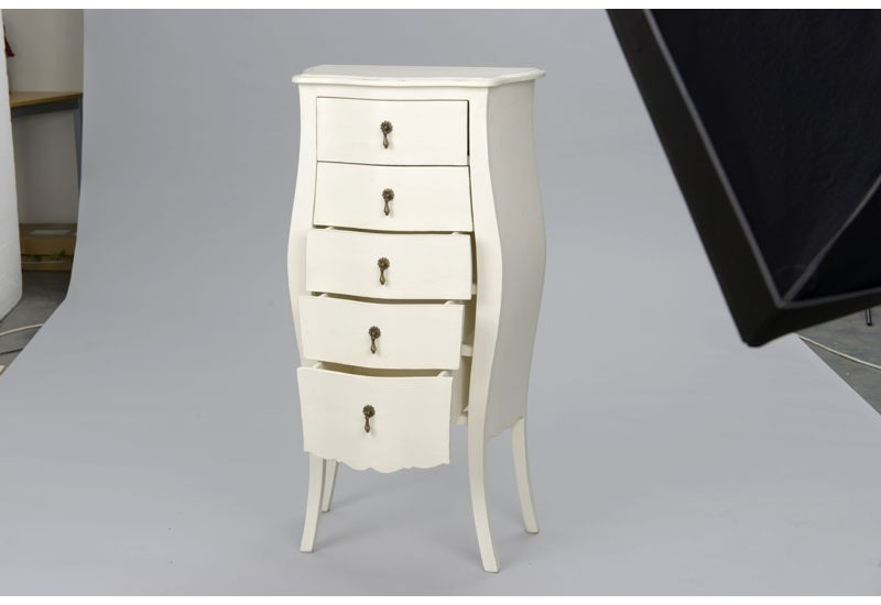 chiffonnier blanc murano amadeus amadeus 14588. Black Bedroom Furniture Sets. Home Design Ideas