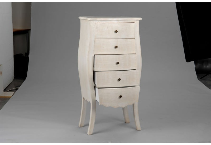 chiffonnier blanc amadeus amadeus 14644. Black Bedroom Furniture Sets. Home Design Ideas