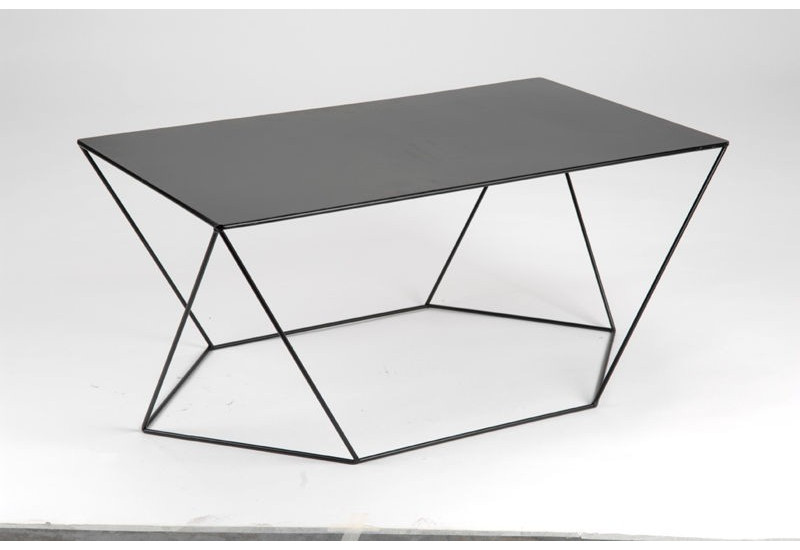 table basse moderne en m tal noir twist amadeus amadeus 15998. Black Bedroom Furniture Sets. Home Design Ideas