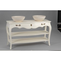 meuble de salle de bain baroquechic blanc cass murano amadeus. Black Bedroom Furniture Sets. Home Design Ideas