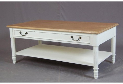Table basse blanche new pauline Amadeus