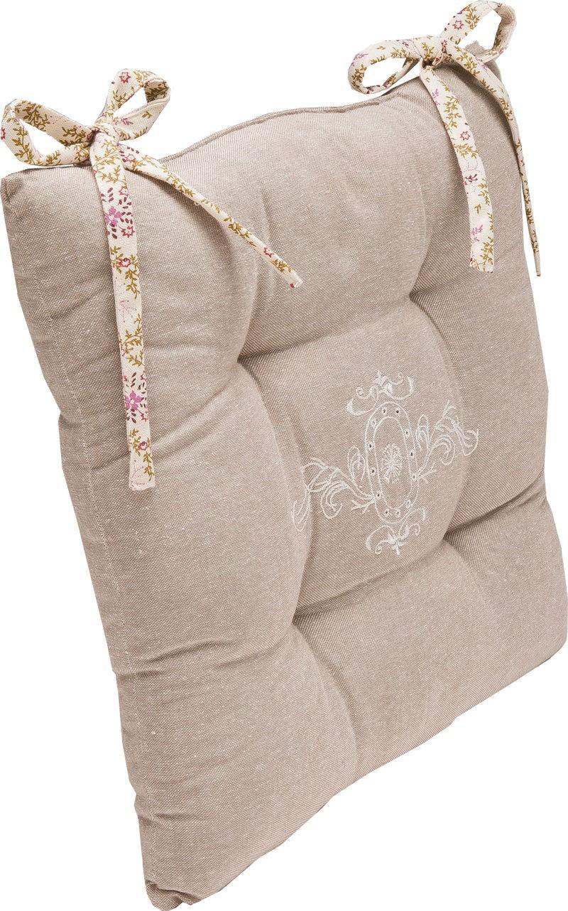 galette de chaise alizea. Black Bedroom Furniture Sets. Home Design Ideas