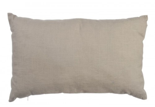 Coussin  Chic Rectangulaire Taupe 35X60Cm J-Line