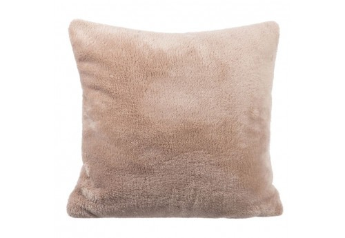 Coussin Polyester Beige 40X40X10Cm J-Line