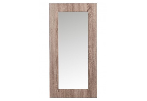 miroir r tro rectangulaire en bois naturel 120x2x60cm j line j line. Black Bedroom Furniture Sets. Home Design Ideas