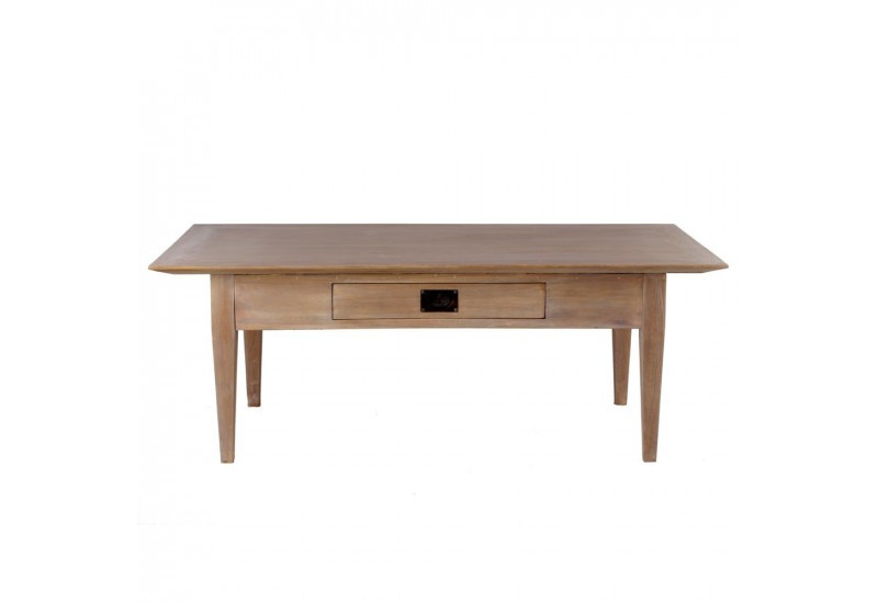 Table basse en bois naturel for Table basse en bois naturel