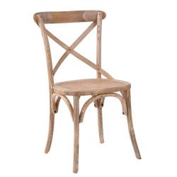 Chaise bistrot en rotin naturellement chic vical home - Chaises de bistrot en rotin ...