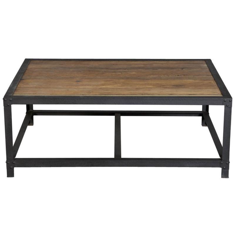 Table basse bois noir d coration de maison - Table basse en bois noir ...