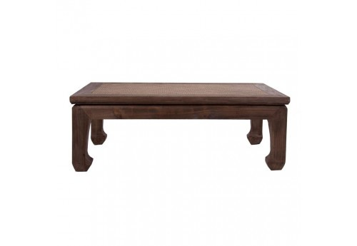 table basse en bois naturel colonial Vical Home
