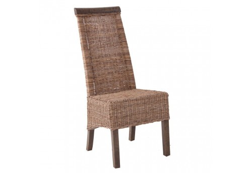 chaise en rotin naturellement chic Vical Home
