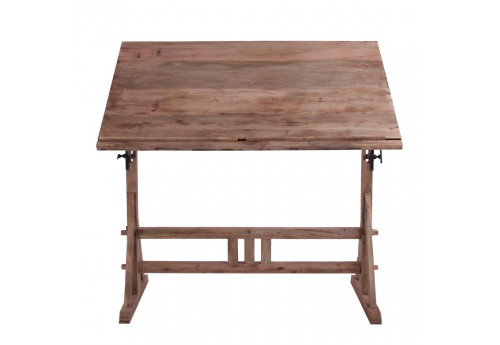 table d'architecte en bois brut  Vical Home