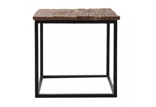 table basse rectangulaire naturel en bois massif  Vical Home