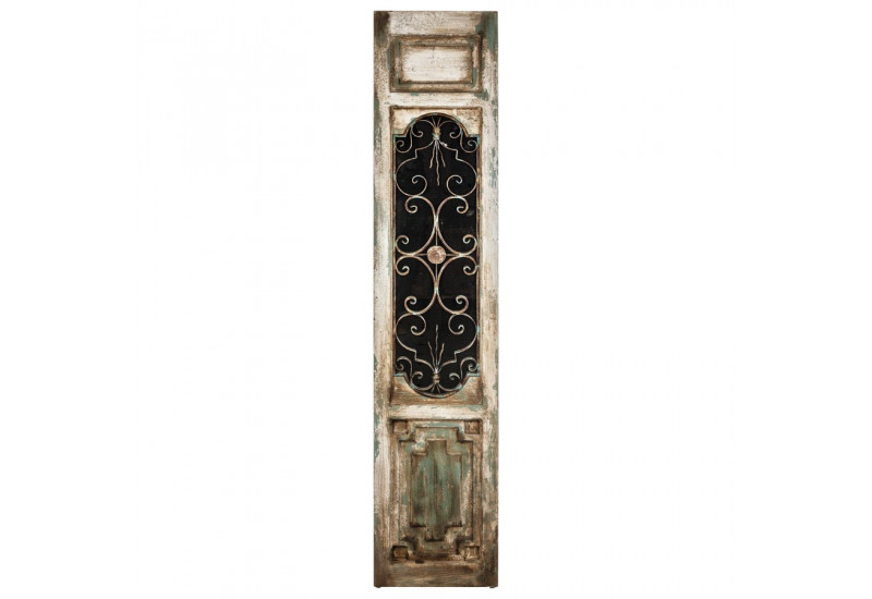 Porte d corative en bois vieilli vical home vical home 18305 - Decoratie en bois ...