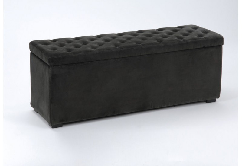 bout de lit coffre velvet amadeus amadeus 1424. Black Bedroom Furniture Sets. Home Design Ideas
