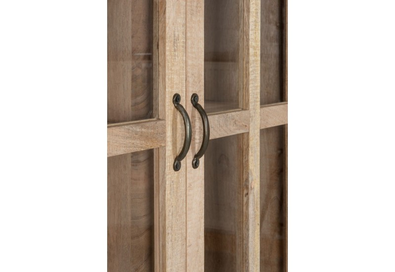 Armoire En Bois Brut : Armoire Vitrine En Bois Pictures to pin on Pinterest