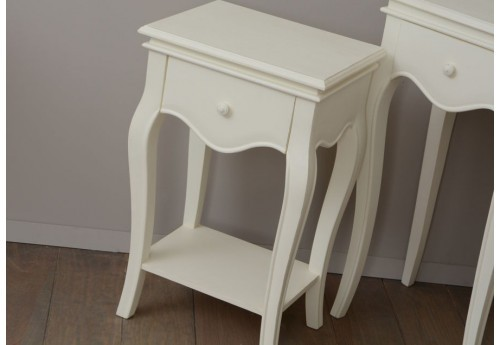 Table de chevet 1 tiroir shabby chic alice Amadeus